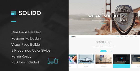 Solido - Responsive One Page Multi