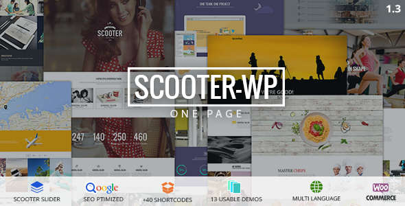 Scooter - One Page Multi
